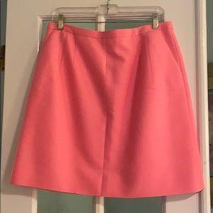 J Crew collection wool silk blend skirt size 10